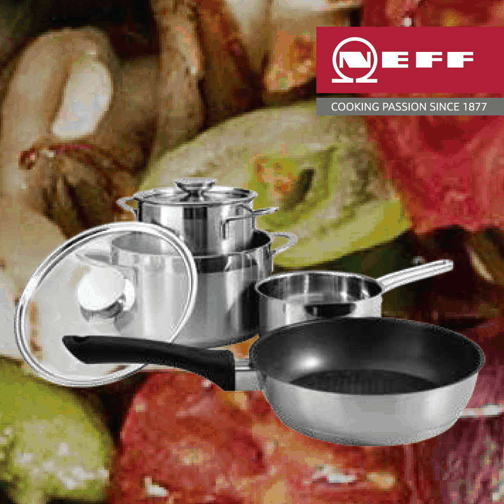 Free Induction Saucepan Set